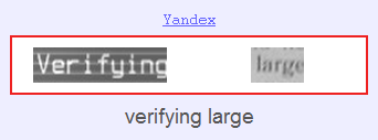 Капчи Yandex XEvil 3.0.3